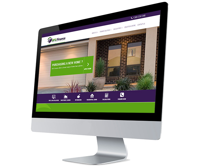 Websites design and hosting for mortgage brokers
